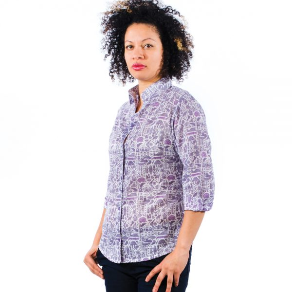 african-shirt-grape