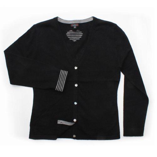 jiniku black cardigan