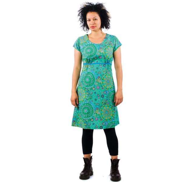 tunic-small-flowers-green