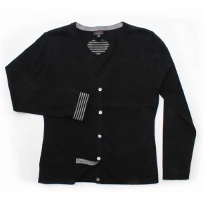 jiniku black cardigan